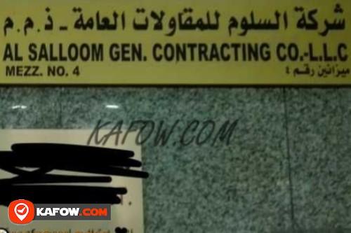 Al Salloom Gen. Contracting Co. LLC