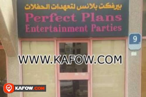 Perfect Plans Entertainment Parties