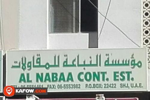 AL NABAA CONT. EST