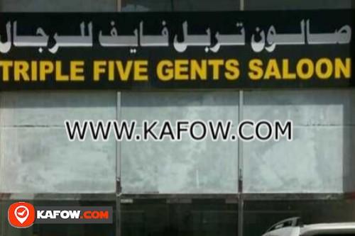 triple Five Gents Saloon