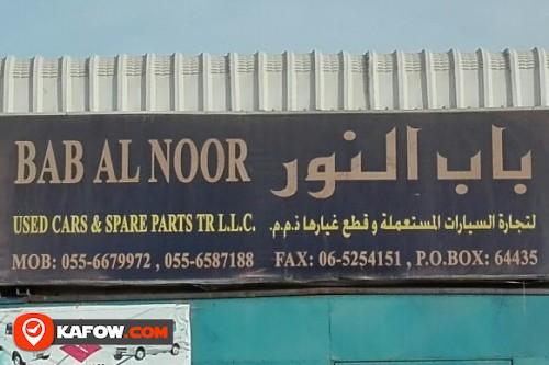 BAB AL NOOR USED CAR'S & SPARE PARTS TRADING LLC