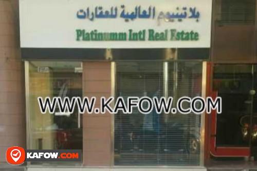 Platinum Intl.Real Estate