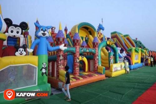 Al Bahar kids Trampoline