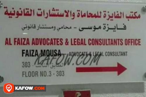 Al Faize Advocates & Legal Consultants Office