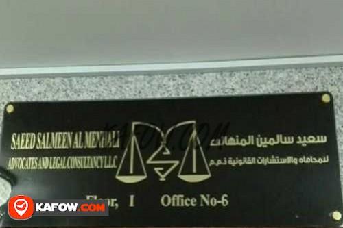 Saeed Salmeen Al Menhali Advocates And Legal Consultancy LLC