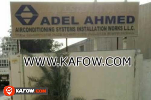 عادل احمد لاعمال تركيب انظمة تكييف الهواء