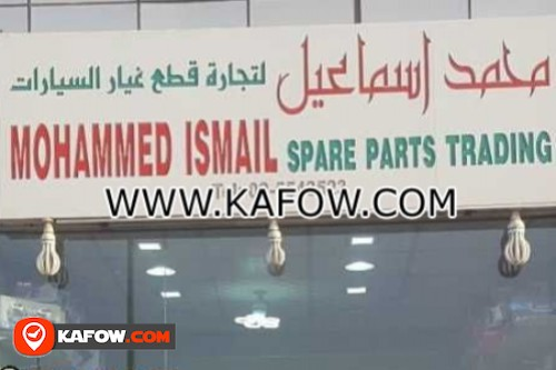 Mohammed Ismail Spare Parts Trading