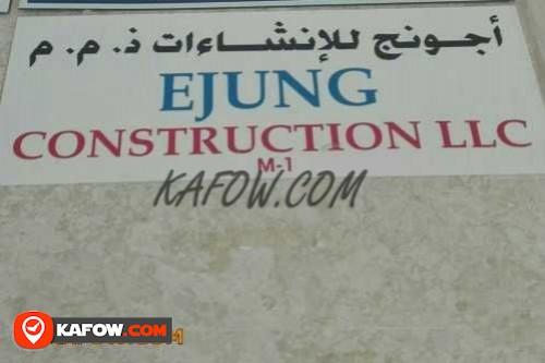 Ejung Construction LLC