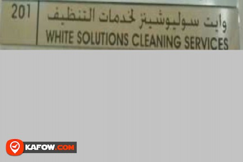 White Solutions Cleaning Services