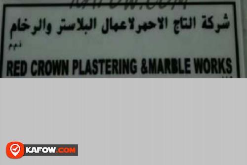 Red Crown Plastering & Marble Works LLC