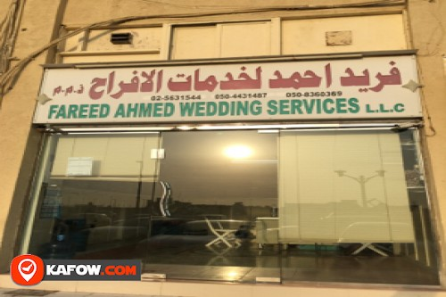 Fareed Ahmed Wedding Services