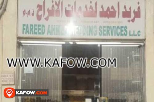 Fareed Ahmed Wedding Services LLC