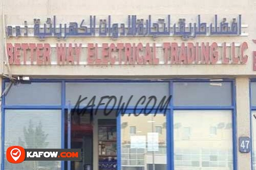 Better Way Electrical Trading LLC