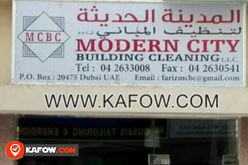 Modern City Building Cleaning