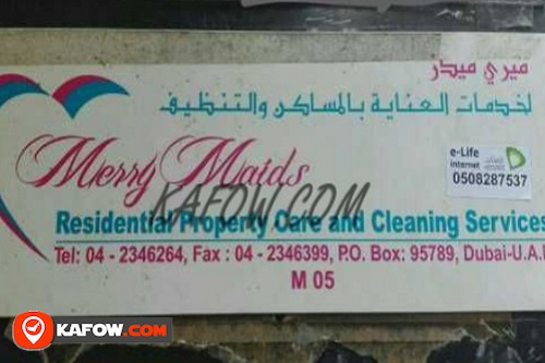Merry Maids Residential Property Care And Cleaning Services