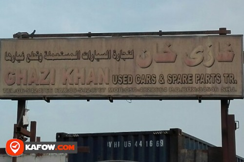 GHAZI KHAN USED CAR'S & SPARE PARTS TRADING