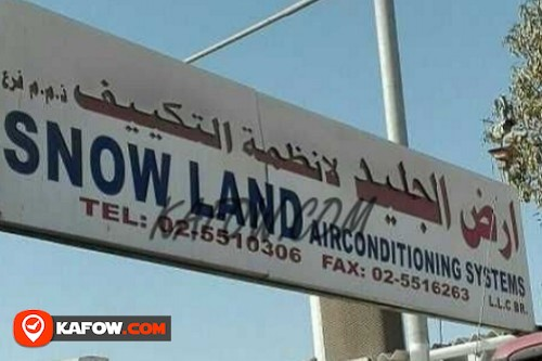 Snow land Air conditioner Systems LLC Br.