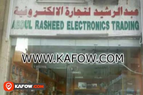 Abdul Rasheed Electronics Trading