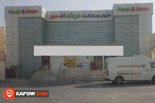 Fresh and more supermarket