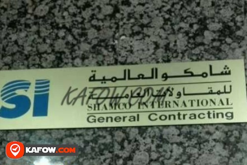 Shamco International General Contracting