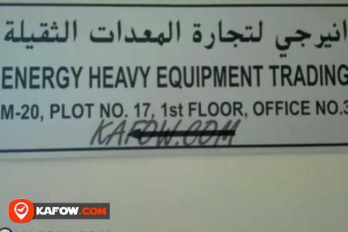 Energy Heavy Equipment Trading