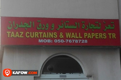 TAAZ CURTAINS & WALL PAPERS TRADING