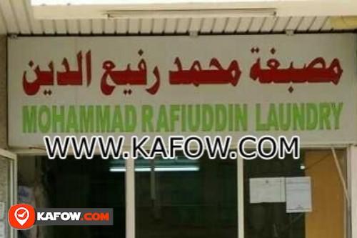 Mohammad Rafiuddin Laundry