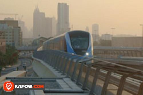 محطة مترو مدينة دبي الطبية اية 2