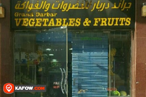 grand darbar vegetables and fruits