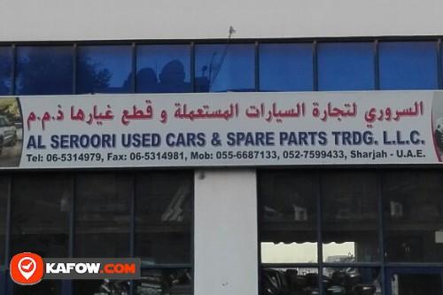 AL SEROORI USED CARS & SPARE PARTS TRADING LLC