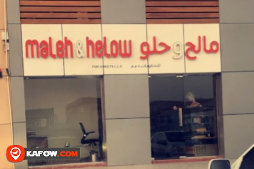 Maleh and Helow  sweets