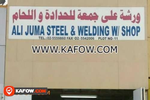 Ali Juma Steel & Welding W/ Shop