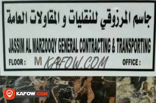Jassim Al Marzooqy General Contracting & Transporting