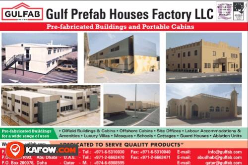 Gulf Prefab Houses Factory LLC