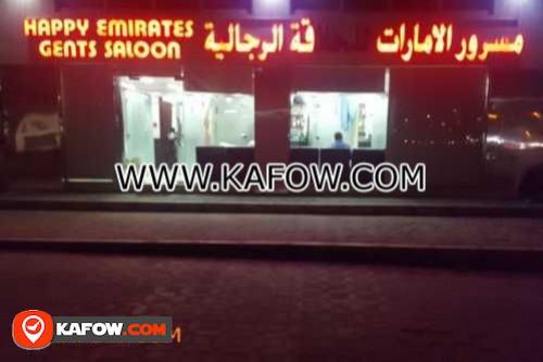 Happy Emirates Gents Saloon