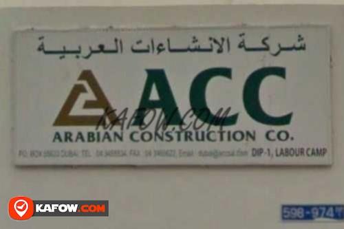 Arabian Construction Company
