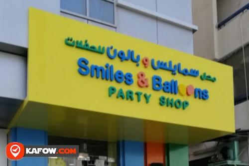 Smiles & Balloons Party Shop