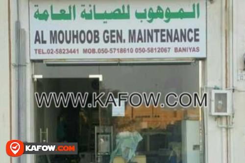 Al Mouhoob Gen. Maintenance