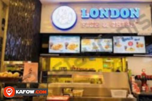 لندن السمك والبطاطس