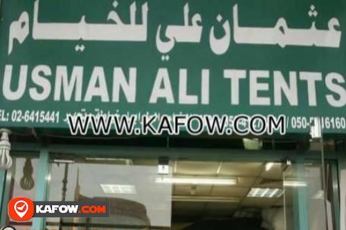 Usman Ali Tents