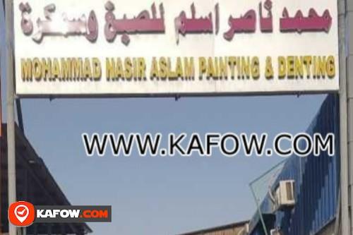 محمد ناصر اسلم للصبغ وسمكرة
