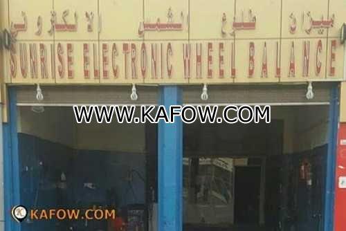Sunrise Electronic Wheel Balance