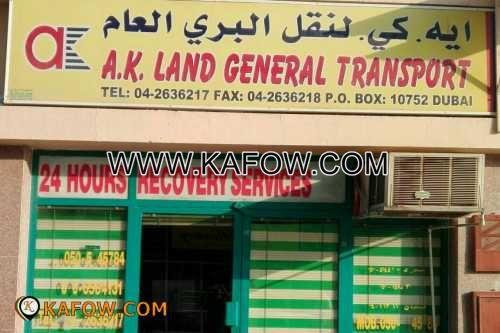 A K Land General Transport