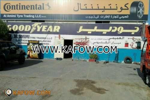 Al Amimi Tyre Trading LLC Br
