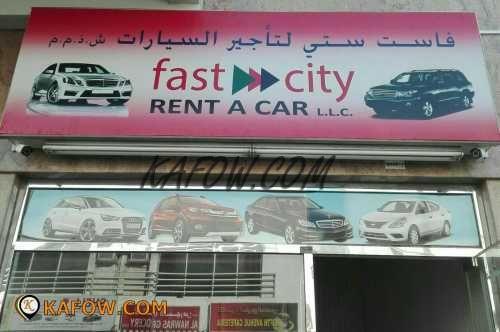 Fast City Rent a Car LLC