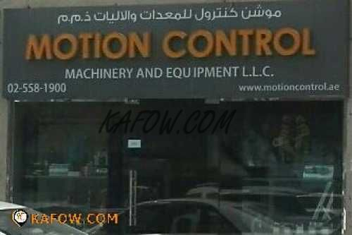Motion Control Machinery And Equipment L.L.C