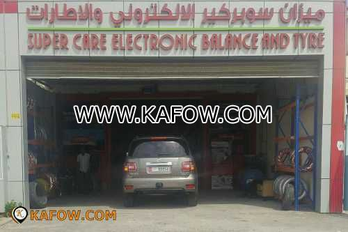 Super Care Electronic Balance And Tyre