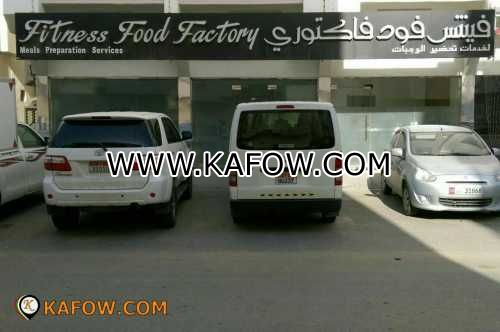 Fitness Food Factory Meals Preparation Services
